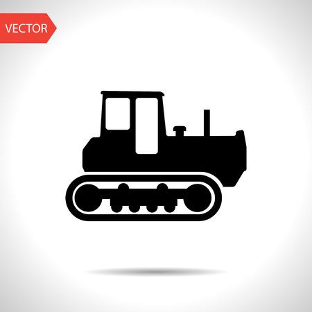 land development: Caterpillar Bulldozer icon