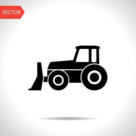 earthmover: bulldozer icon