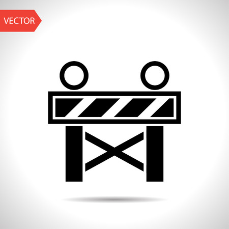 roadblock: Construction Roadblock Icon