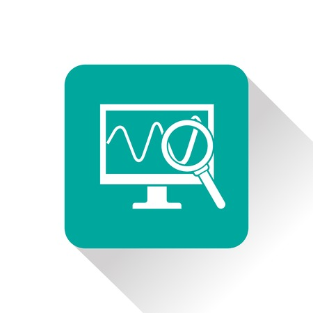monitoring: Monitoring icon Illustration