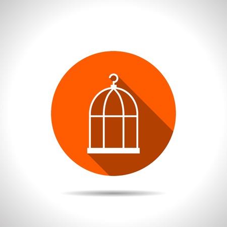 prison house: Bird cage icon
