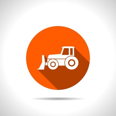 grader: bulldozer icon