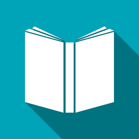 open book icon: open book icon Illustration