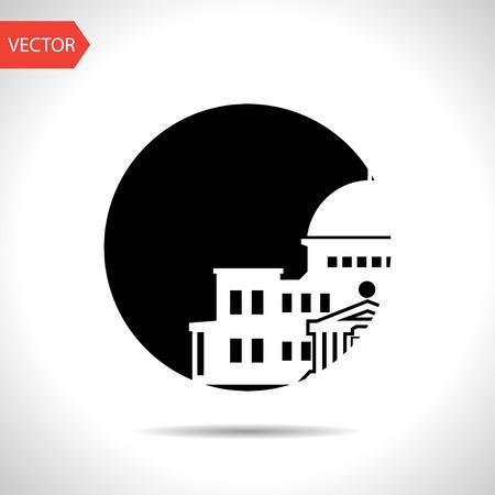 senate: government building icon