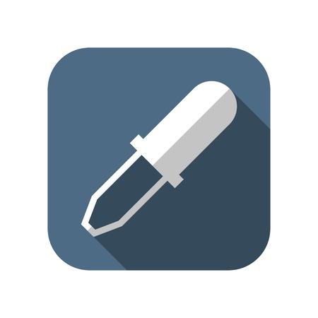 pipeta: icono de la pipeta Vectores