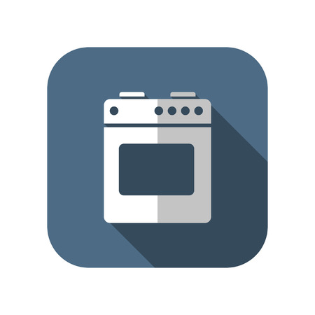 oven range: icon of gas stove