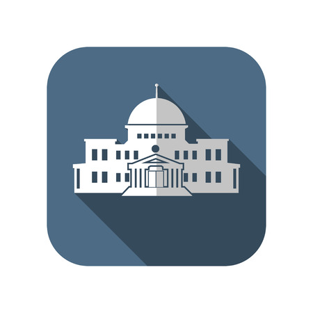 congress: government building Illustration