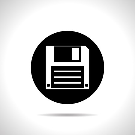 icon of hd diskette