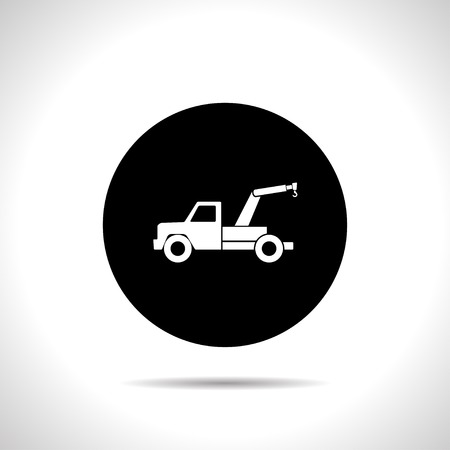 tow: icon of tow car