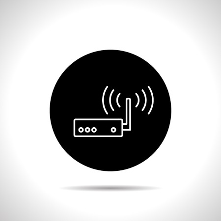 hub computer: icon of router