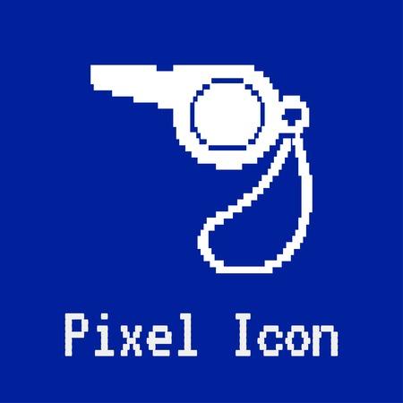 referee: The whistle icon. Referee symbol