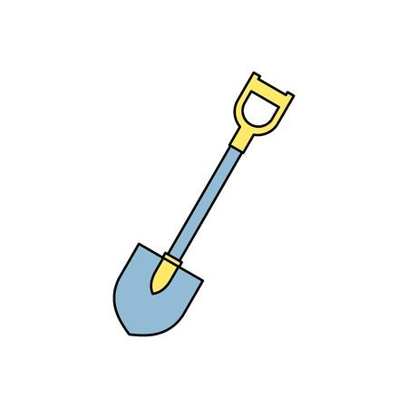 spade: icon of spade Illustration