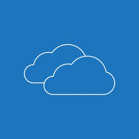 wheather: icon of clouds