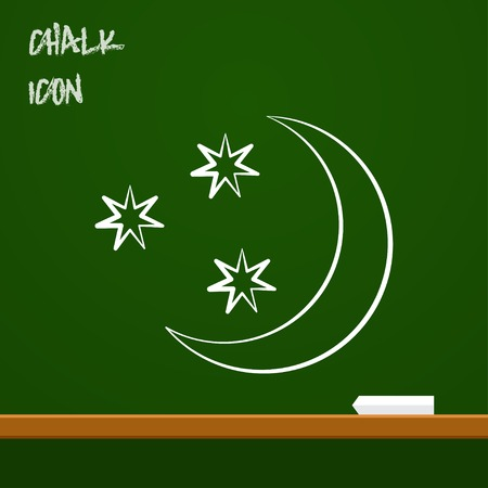 night: icon of starry night