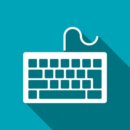 qwerty: icon of keyboard