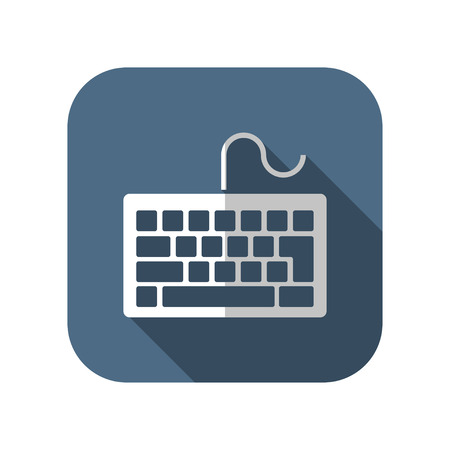 input device: icon of keyboard
