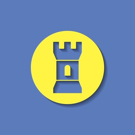 icon of tower