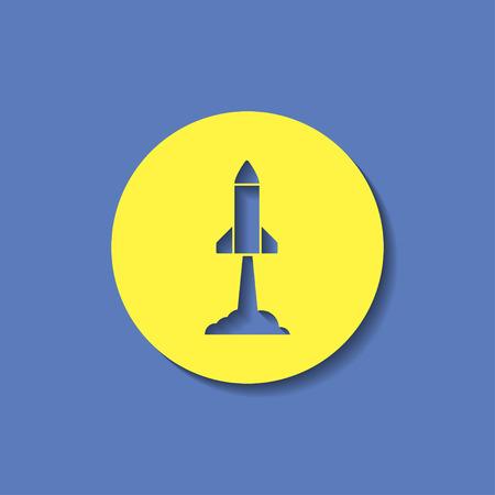 starting: Starting rocket icon