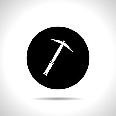 mattock: icon of pick