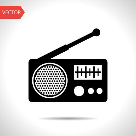shortwave: Radio icon Illustration