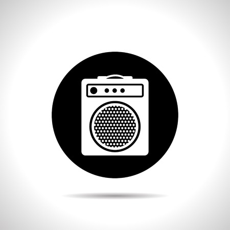 amp: guitar amplifier icon
