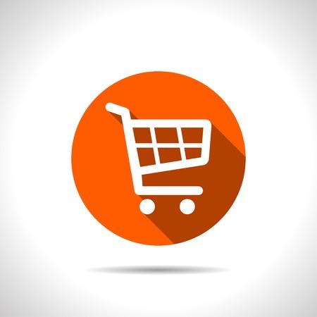 icon shopping cart: Warenkorb-Symbol