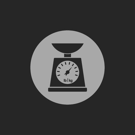 norm: Icono de la escala del vector de cocina