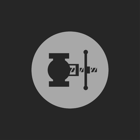 valve: valve icon, vector