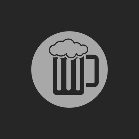 guinness: Glass of beer icon Illustration