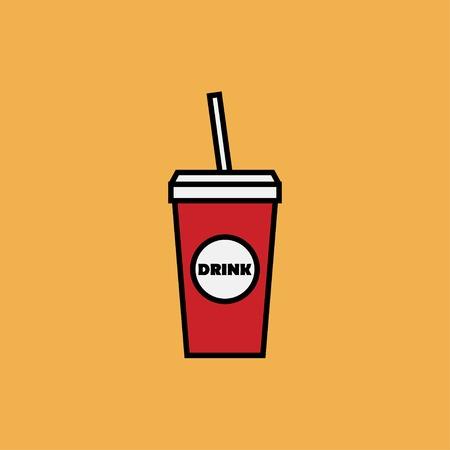 coke: Vector drink icon. Food icon. Eps10