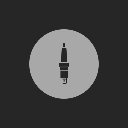 electrical part: icon of spark-plug
