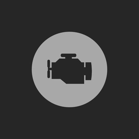 engine: icon of engine