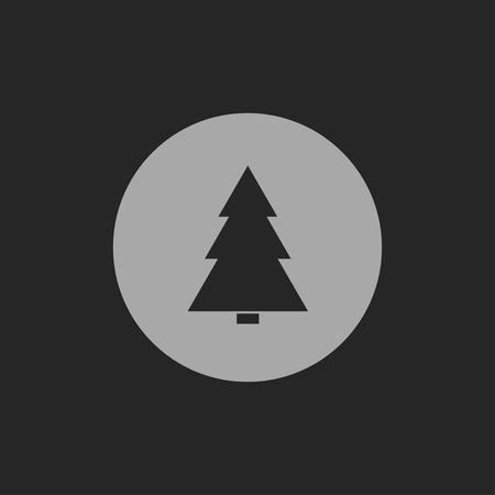 xmas tree: xmas tree icon