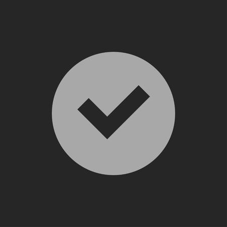 check icon: icon of check