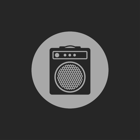 guitar amplifier: guitar amplifier icon