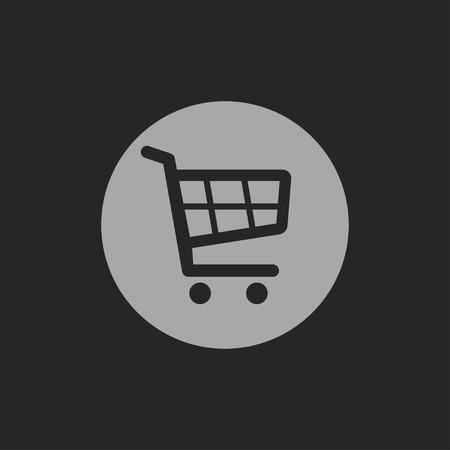 icon shopping cart: shopping cart icon