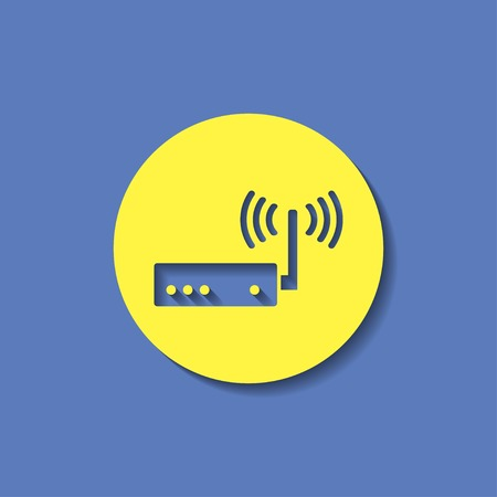 adsl: icon of router