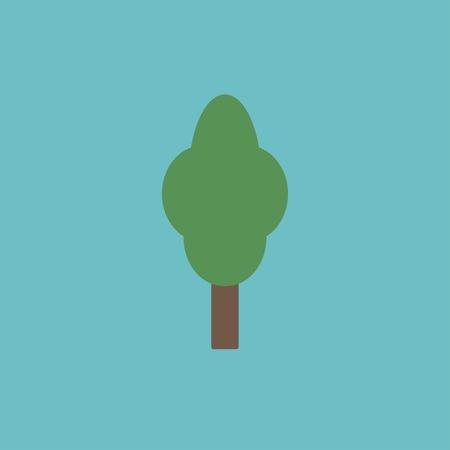 reforestaci�n: icono de �rbol