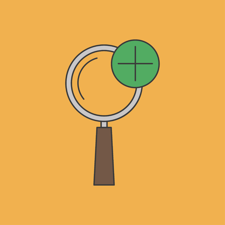zoom in: icon of zoom in magnifying glass
