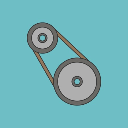 industrial belt: icon of belting