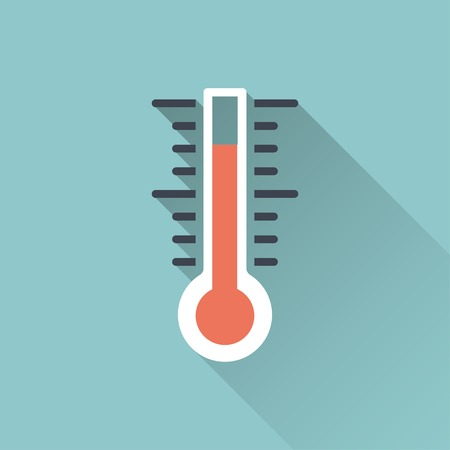celsius: icon of thermometer