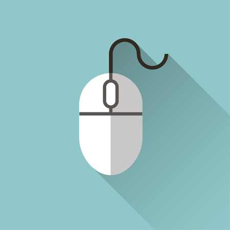 computer mouse icon: icon of mouse