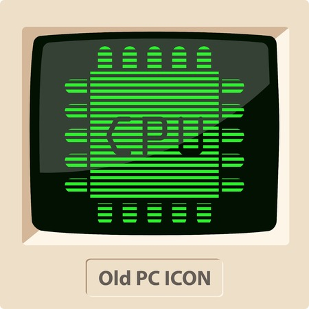 main part: icon of microchip