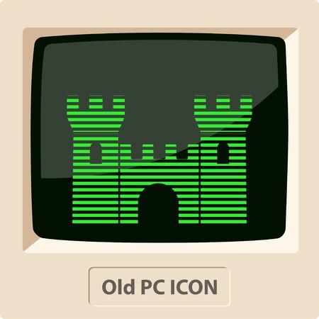 citadel: icon of castle Illustration
