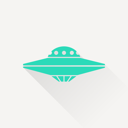 flying saucer: UFO Flying Saucer Icon