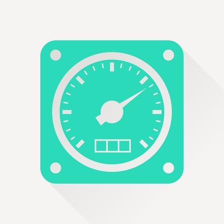 gauge: icon of gauge
