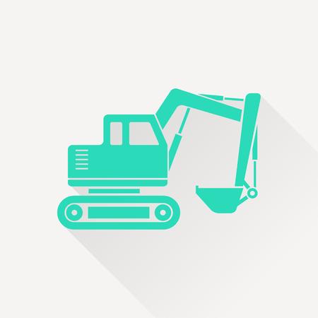 excavator: excavator icon