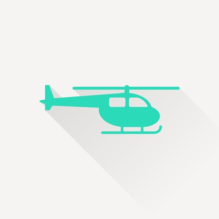 fuselage: Helicopter icon Illustration