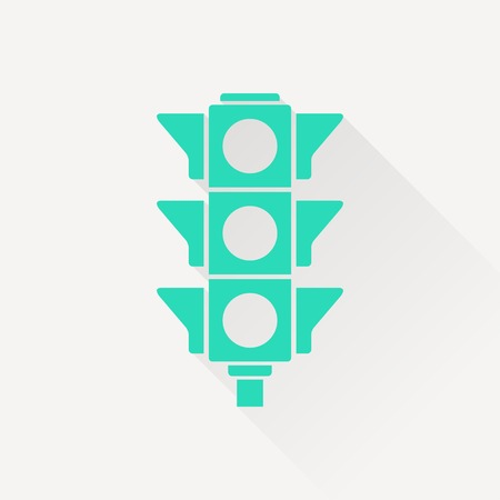 señal de transito: icono de semáforo