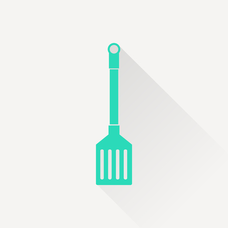 slotted: kitchen icon of cooking scoop